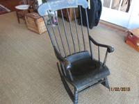 Antique Connecticut Hitchcock Rocking Chair, For
