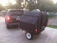 "HitchPOD Trailer Version - Molded 3/8"" Polyethylene"