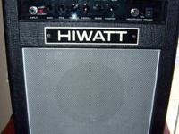 hiwatt custom 20 combo,solid state,  20W of power