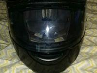 xxl hjc helmet worn maybe a dozen times. don't like the