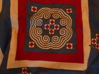 I COLLECTED THIS QUILT/ DOUVET IN CHANG MAI OVER 20