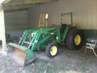 I am selling a 1994 John Deere 970 4X4 compact tractor