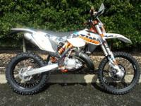 WHITE, Can be road registered for an additional 125,