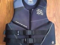 "Ski Vest HO Sports Ladies Large 40-44"" chest, great"