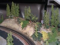 Working 8 x 8 foot HO DC train layout. Well over $2000