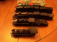 i have 5 HO steam trains for sale. $100 for the green