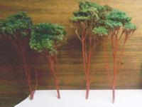 Description HO TREES FOR MODEL RAILROAD 1.00 TREES for