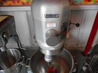 Reconditioned Hobart 80qt 3 stage Planetary Mixer.
