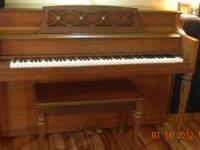 We are selling our Hobart M. Cable Piano. It's in great