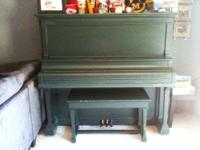 HOBART M CABLE UPRIGHT PIANO, HAS BEEN IN MY FAMILY FOR