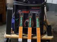 Hobart Stick Welder 235/160 Max AC/DC Welder Stickman