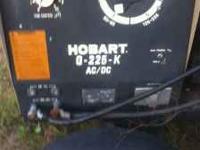 Hobart Welder Generator G-225-K AC/DC. Everything works