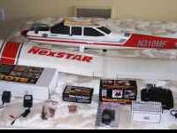 This is a BRAND NEW as you see it Hobbico Nexstar