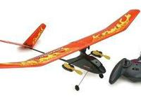 We have this HobbyZone Firebird Outlaw it use to fly