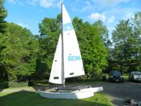 Recovered Hobie 16 with trailer. Replaced trampoline,