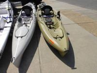 End of season clearance on all my demonstration kayaks