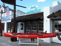 See the Hobie Mirage pedal, Hobie paddle kayaks and