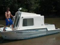 really cool boat. drifts in right around 8 inches of