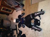 I AM SELLING MY TEENAGE SONS USED HOCKEY GEAR I HAD