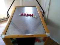 Arcade Style Air Hockey Table in WORKING CONDITION.