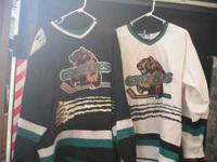 For sale are 6 different hockey jerseys. 1 is a Starter
