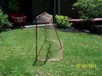 TWO (2) 4 X 6 FEET HOCKEY NETS. ONE SLIGHTLY USED $50