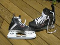 Easton Synergy SY50 senior men`s hockey skates worn