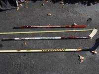 I have 1 brand-new and 2 utilized hockey sticks that