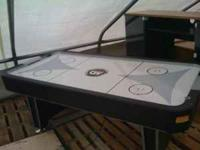 Nice air hockey table in great shape with all the