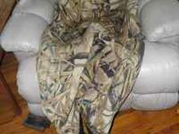 Hodgeman Camo Neoprene Boot-foot Waders. Very nice,