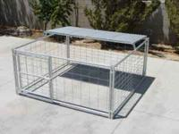 Barely used pen, paid over 500.  8' x 8' Hog Pen w/Roof