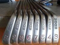 complete set of forged head irons.   variable flex