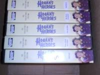Hogans Heroes 7 VHS tapes with 4 episodes on each tape.
