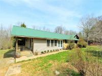 3 bedroom, 1 1/2 bathroom home on 4.5+/- acres with