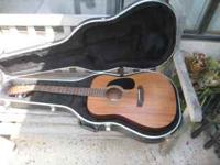 ACUSTIC HOHNER HAND CRAFTED HW-300 GUITAR WITH HARD