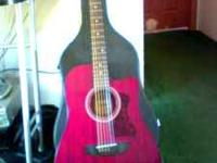 i have a very nice Hohner electric acoustic built in