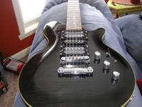 This is a a really nice guitar. It has Tesla pickups