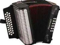Hohner Panther Accordian, just bought new 6 months ago,