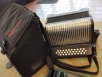 Up for sale is a Hohner Panther Accordion. Come take a