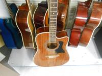 You are looking at a gently used Hohner Acoustic