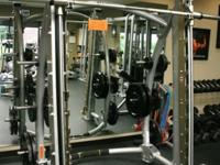 Hoist CF 3753 Commercial 7 Degree Smith Machine Perfect