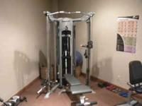 Selling a like new Hoist Fitness System. Hoist V6