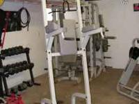 Hoist HF985 complete gym set up. -all accessories