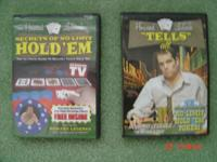 Hold'em Poker DVDs by Howard Lederer. See photo.