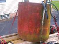 250 gallon holding tank in Good solid condition and