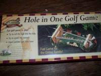 Hole in one golf game $5 cash only text or call
