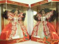 I have several Holiday Barbies 1996 & 1997, ranging