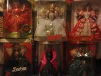 Holiday Barbies $25 each obo, Jonesboro, IL  Location: