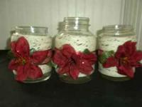 These one of a kind holiday jars will bring character