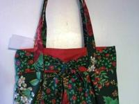 Holiday Purse ~ Hand Crafted Hand Crafted Holiday Purse